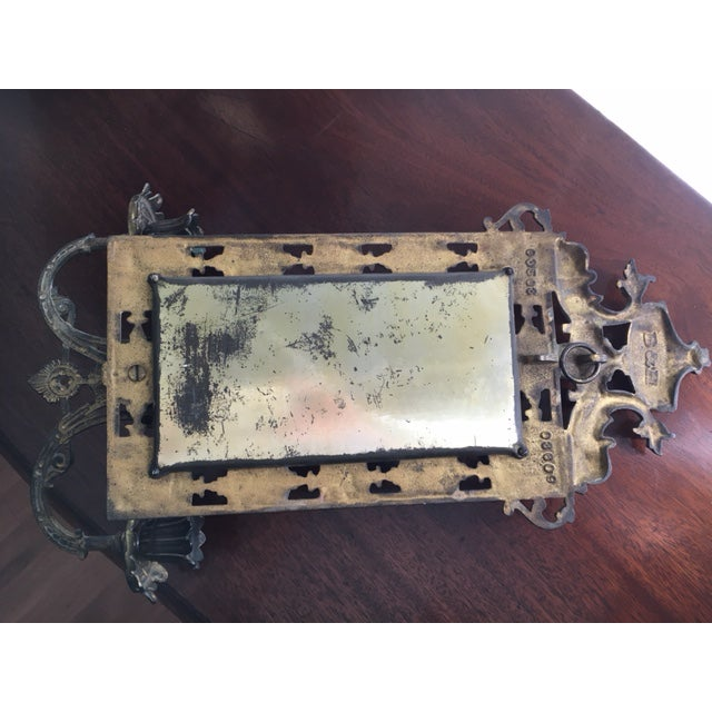 Gold B & H Mirrored Candle Sconce For Sale - Image 8 of 8