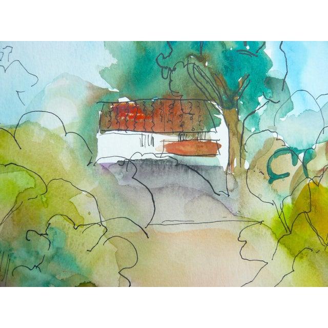 Ranch Santa Barbara Painting by M. Holden - Image 5 of 5