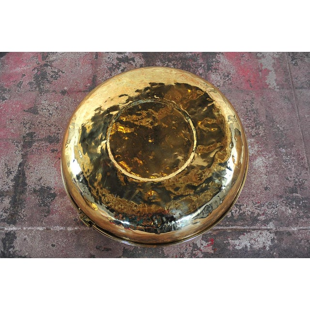 Antique 19th Century Brass Foot Warmer - Image 11 of 11