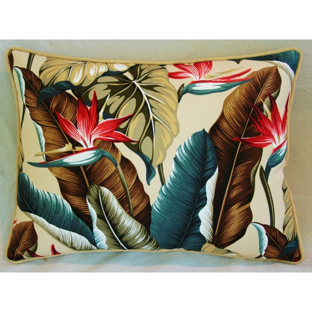 Custom Tropical Bird of Paradise Pillows - A Pair - Image 9 of 11