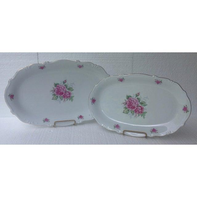 Bavarian Pink Rose China Set - Set of 84 For Sale - Image 4 of 8