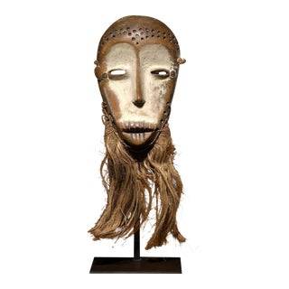 Bwami mask, Lega, Democratic Republic of the Congo, Africa, 19th Century For Sale