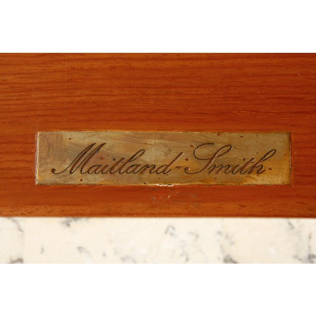 Tessellated Stone Carlton House Desk by Maitland-Smith For Sale - Image 9 of 13