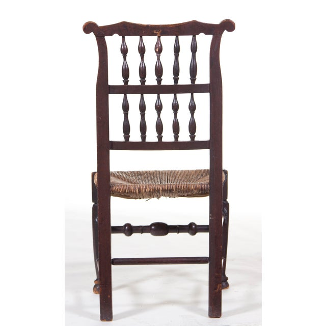 English Traditional Mid 19th Century English Farmhouse Chair For Sale - Image 3 of 4