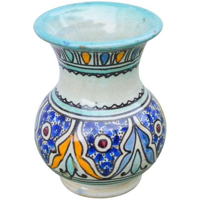 Ceramic Antique Andalusian Ceramic Vase For Sale - Image 7 of 10