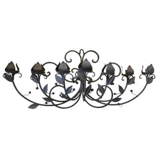 Seven-Candlelight Wall Sconce For Sale