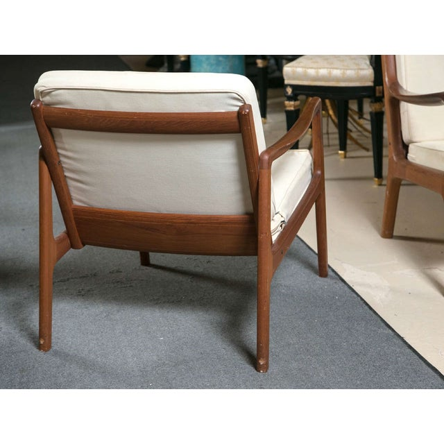 Ole Wanscher Mid-Century Teak Lounge Chair For Sale In New York - Image 6 of 9