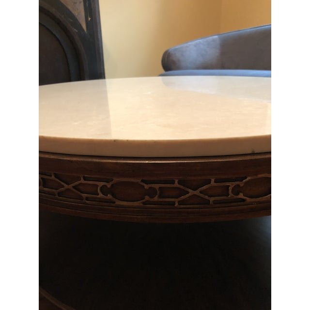 Traditional Drexel Heritage Olio Collection Coffee Table For Sale - Image 3 of 8
