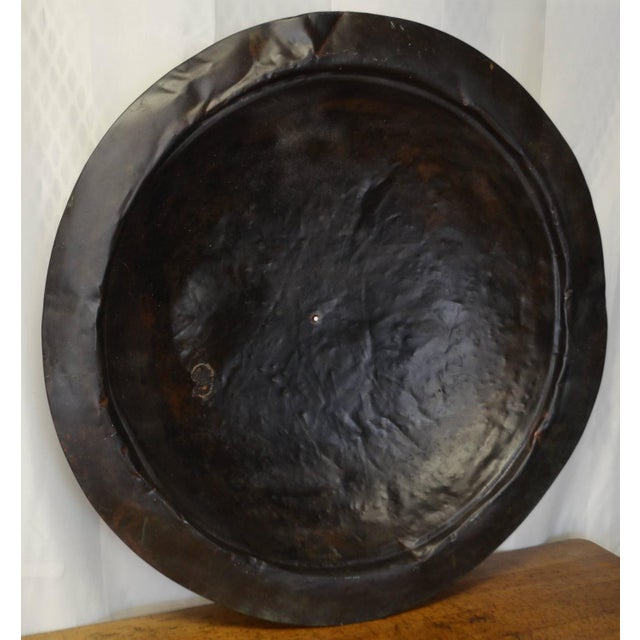 Wall Mount Rustic Copper Disc - Image 4 of 8