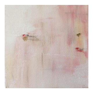 """Contemporary Acrylic Painting """"Pink Abstract II"""" by Ally Sheppard"""