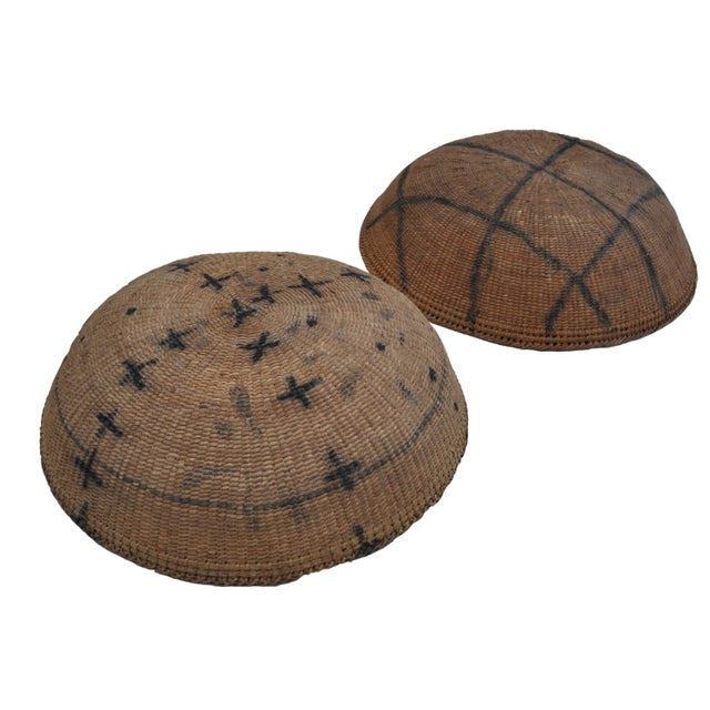 Yanomami Amazon River Basin Baskets - A Pair - Image 1 of 3