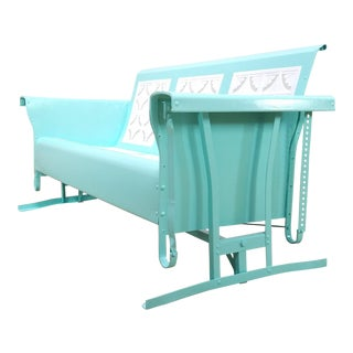 Mid-Century Original Bunting Co. Porch Glider For Sale