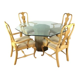 Contemporary Dining Set - Set of 5