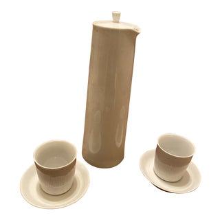 Lyngby Porcelain Thermodan 2 Piece Set For Sale