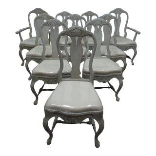 10 Swedish Rococo Chairs For Sale