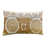 Image of Vintage Tashkent Lumbar Pillow For Sale