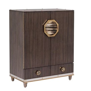Henredon Barclay Street Bar Cabinet For Sale
