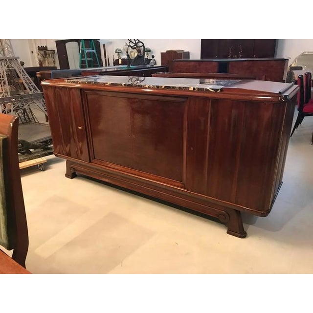 Art Deco French Art Deco Numbered Gaston Poisson Buffet For Sale - Image 3 of 10