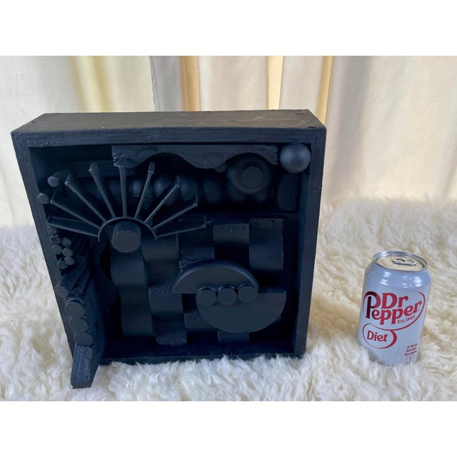 Contemporary Assemblage Sculpture After Louise Nevelson For Sale In Palm Springs - Image 6 of 9