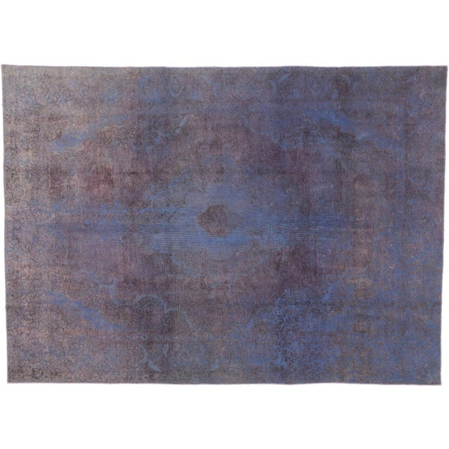 Textile Vintage Turkish Rug With Contemporary French Style - 08'00 X 11'01 For Sale - Image 7 of 7