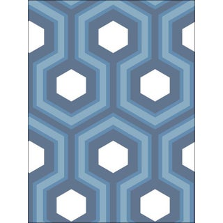 Cole and Son Hicks Grand Wallpaper in Blue For Sale
