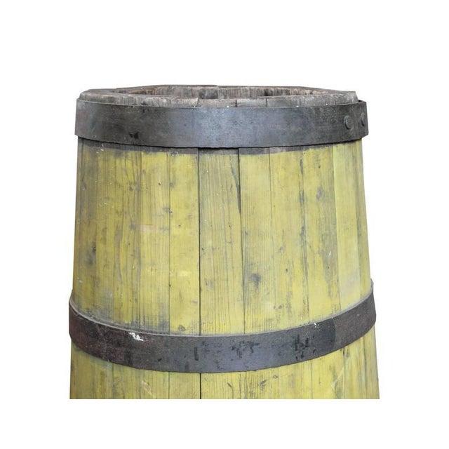 19th Century Wood and Iron Graduated Barrel - Image 3 of 5