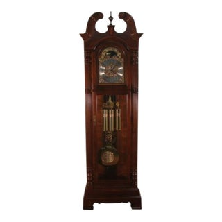 Howard Miller Mahogany Cased Grandfather Clock