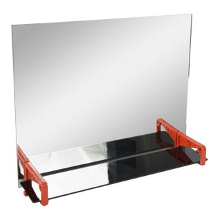 Industrial Wall Mirror, Poland 1960s For Sale