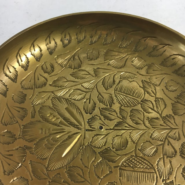 Vintage Indian Brass Ashtray - Image 4 of 8