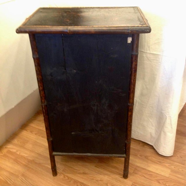 19th Century English Bamboo Cabinet For Sale - Image 12 of 13