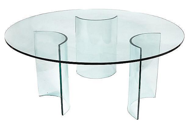 vintage italian barcelona style dining. 1960s italian round glass dining table vintage barcelona style