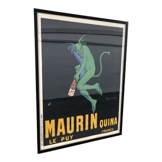 """Maurin Quina"" Apertif Advertising Poster For Sale"