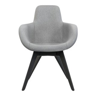 Tom Dixon Scoop High Back Black Leg Mollie Melton Chair - 0104 For Sale