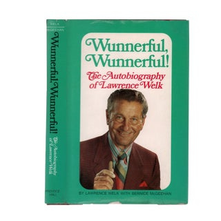 "1971 ""Signed Edition, Wunnerful, Wunnerful!"" Collectible Book For Sale"