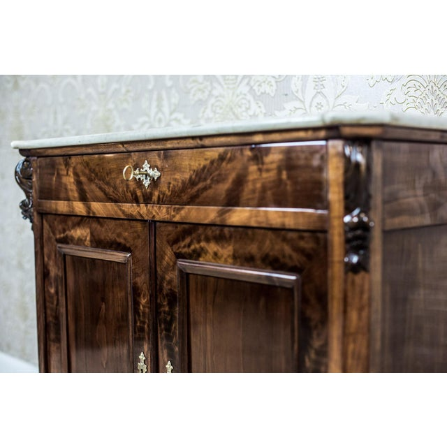 19th Century Louis Philippe Cabinet For Sale - Image 4 of 13