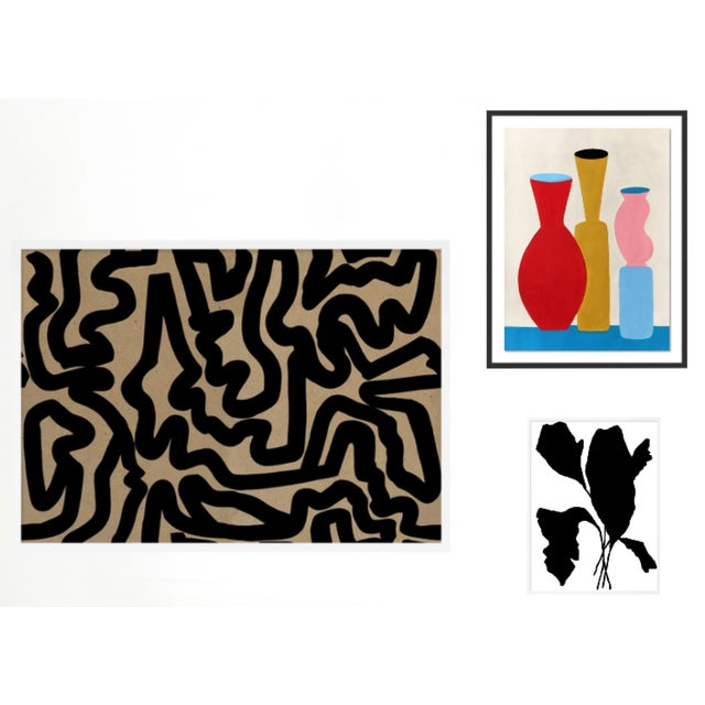 Evening Abstraction Gallery Wall, Set of 3 For Sale - Image 10 of 10