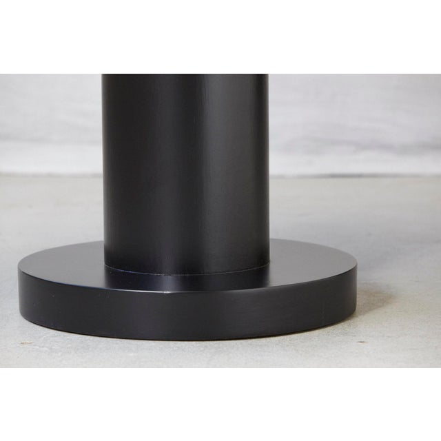 Modern Puristic Oak Center Table in New Black Finish, 1960s For Sale In New York - Image 6 of 12