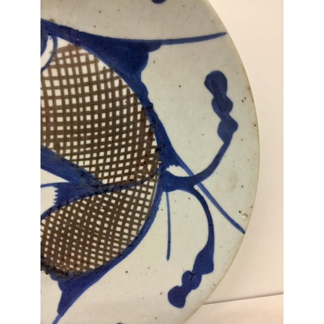 Asian 1800's Japanese Porcelain Fish Decorated Bowl For Sale - Image 3 of 13