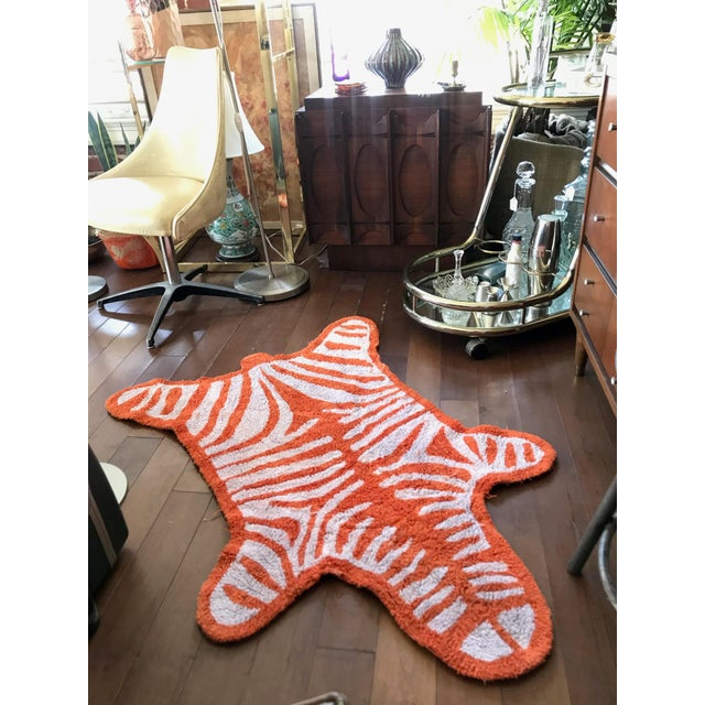 Textile Jonathan Adler Tiger Stripe Rug - 3′3″ × 4′9″ For Sale - Image 7 of 8