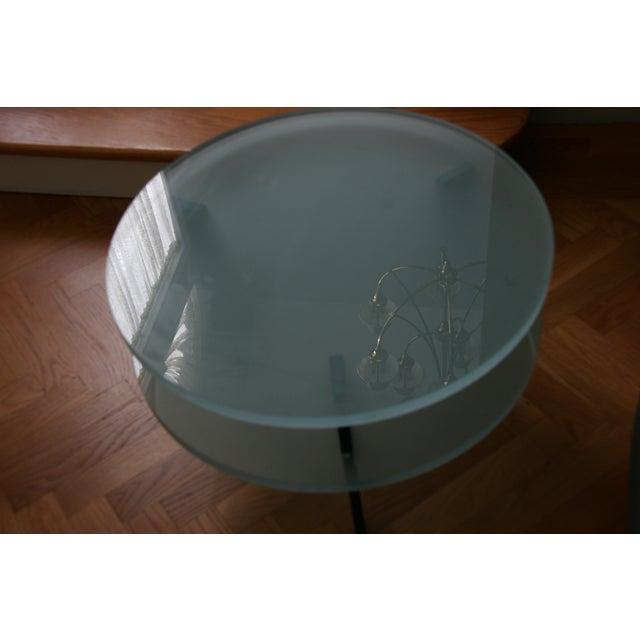 Modern Glass Saporiti Italia End Tables For Sale - Image 3 of 4