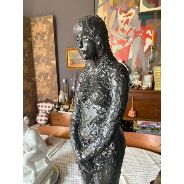 1960's Mid-Century Nude Figure Sculpture For Sale - Image 4 of 9