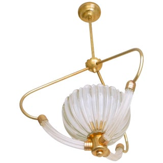 Barovier & Toso Chandelier Murano, 1960s For Sale