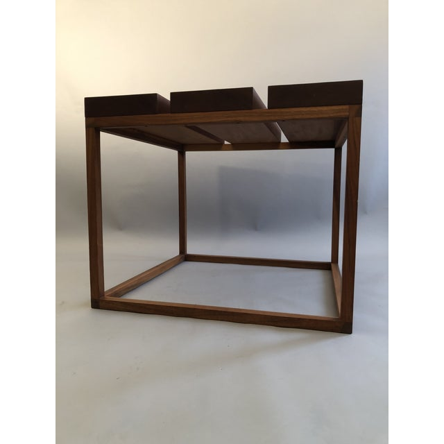 Brown Robert Bristow 3 Block Table For Sale - Image 8 of 9