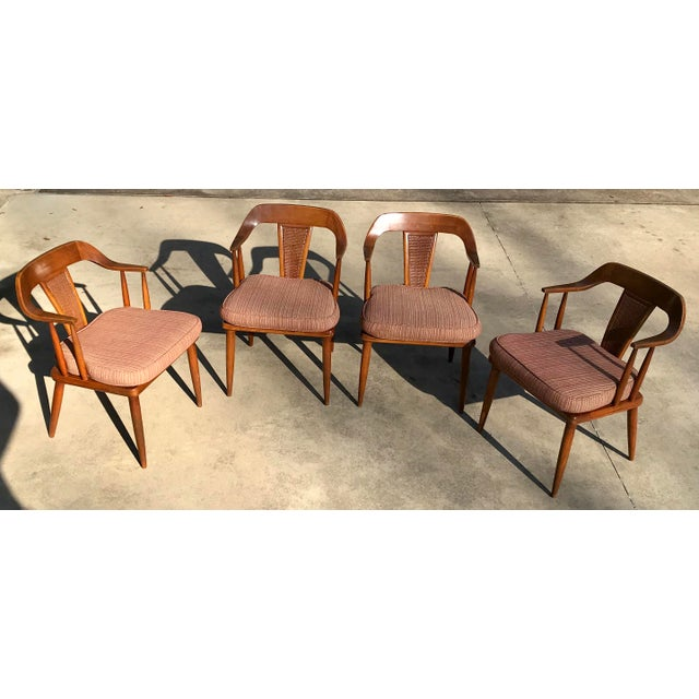 Tomlinson of High Point Mid Century Dining Chairs - Set of 4 For Sale - Image 13 of 13