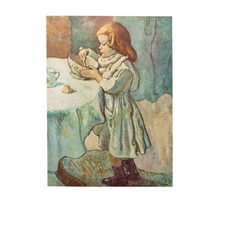 Picasso the Gourmet Vintage Lithograph