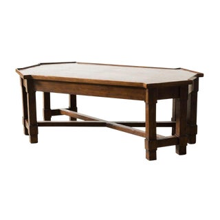 Transitional Carlisle Cocktail Table For Sale