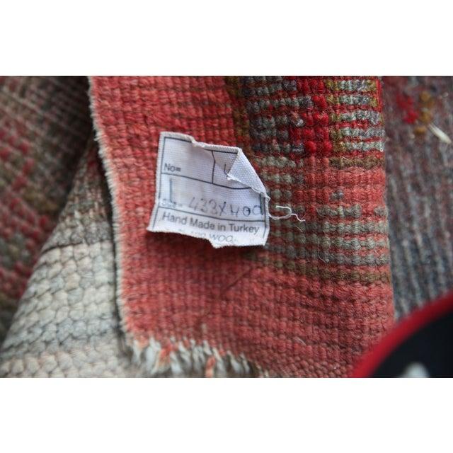 Large Vintage Turkish Wool Rug - 13′ × 14′6″ - Image 5 of 8