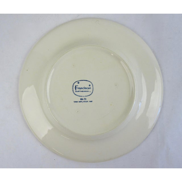 Franciscan Earthenware Salad Dishes - Set of 7 For Sale - Image 5 of 6