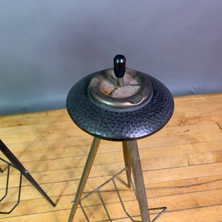1940s Italian Painted Metal Standing Ashtrays - a Pair Preview