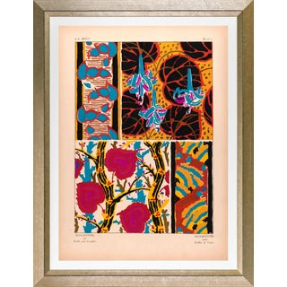 """Framed E. A. Seguy Print, """"Suggestions"""" Plate No. 07 For Sale"""